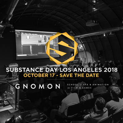 Substance Day Los Angeles 2018 | Gnomon + Allegorithmic