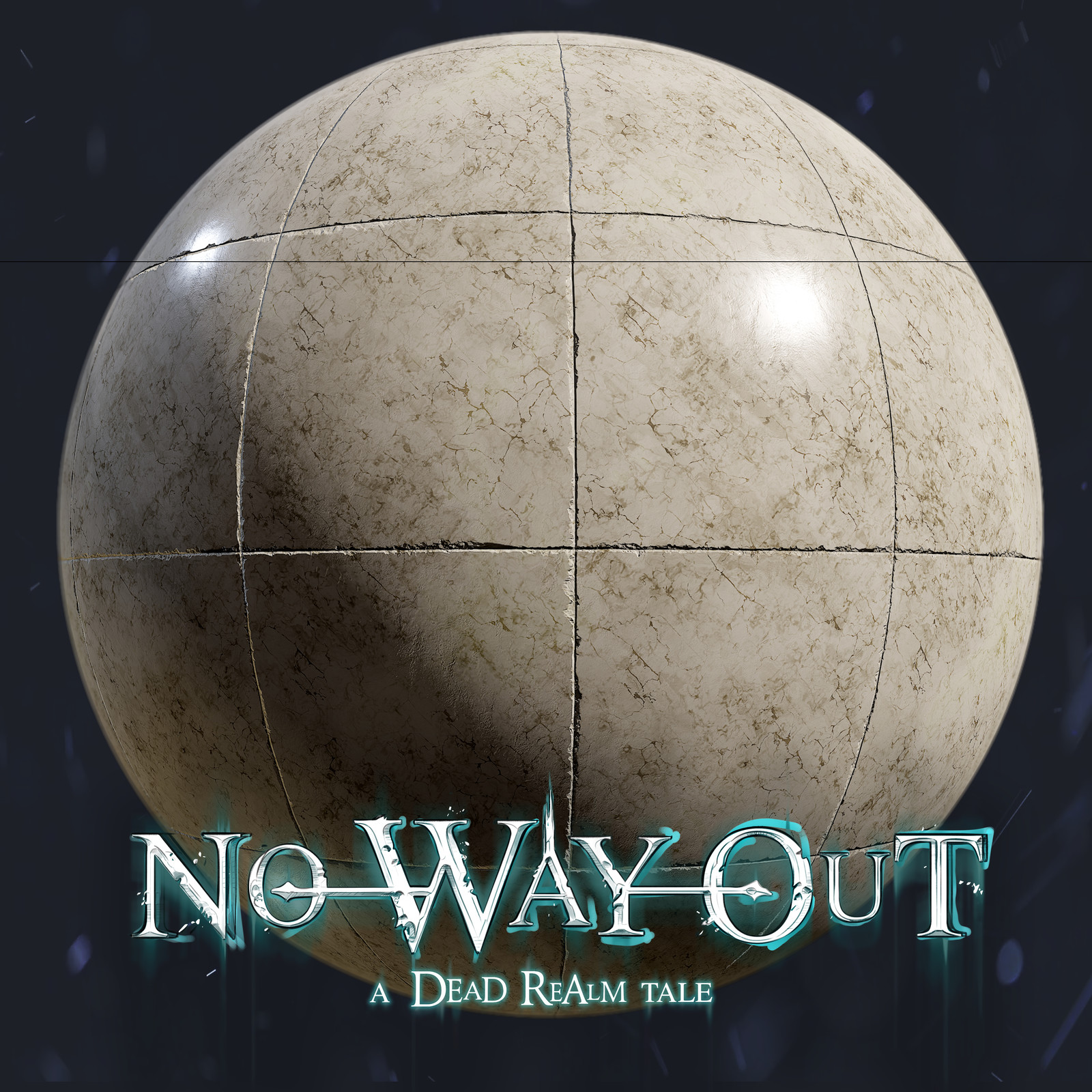No Way Out - A Dead Realm Tale - Materials - Marble Floor Real