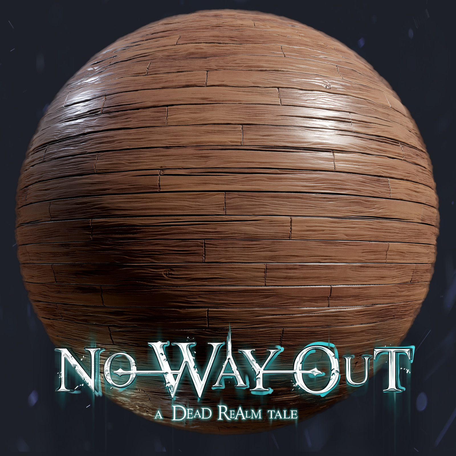 No Way Out - A Dead Realm Tale - Materials - Wood Plank Real Realm