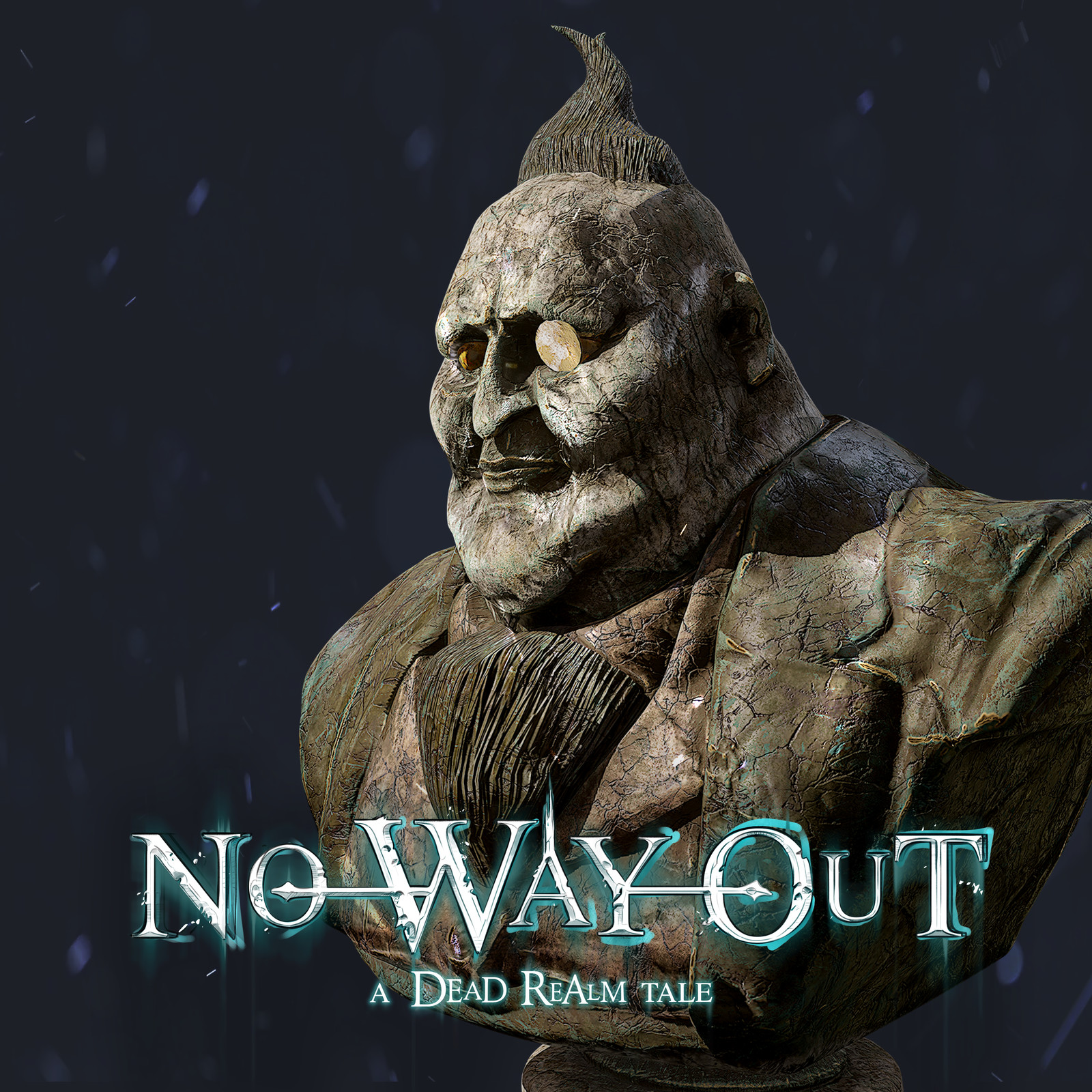 No Way Out - A Dead Realm Tale - Props - StatueBust 01