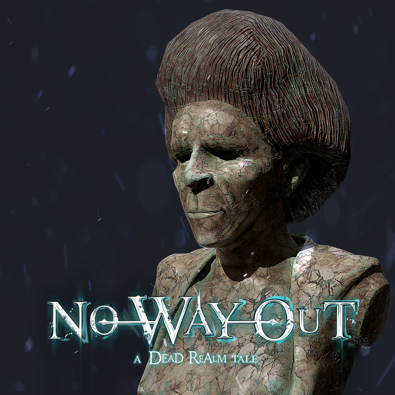 No Way Out - A Dead Realm Tale - Props - StatueBust 02