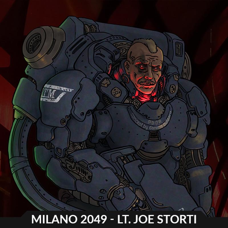 MILANO 2049 - Liutenant Joe Storti