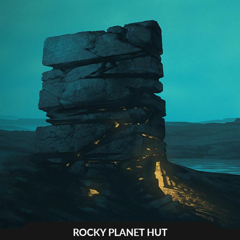 Rocky Planet Hut