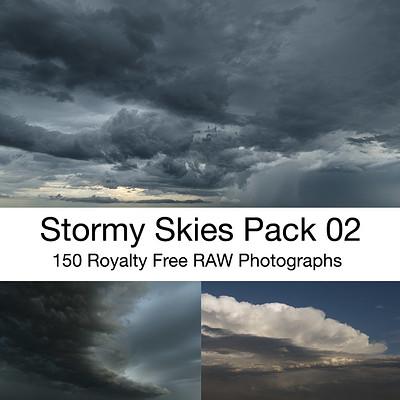 Stormy Skies Photo Ref Pack 02