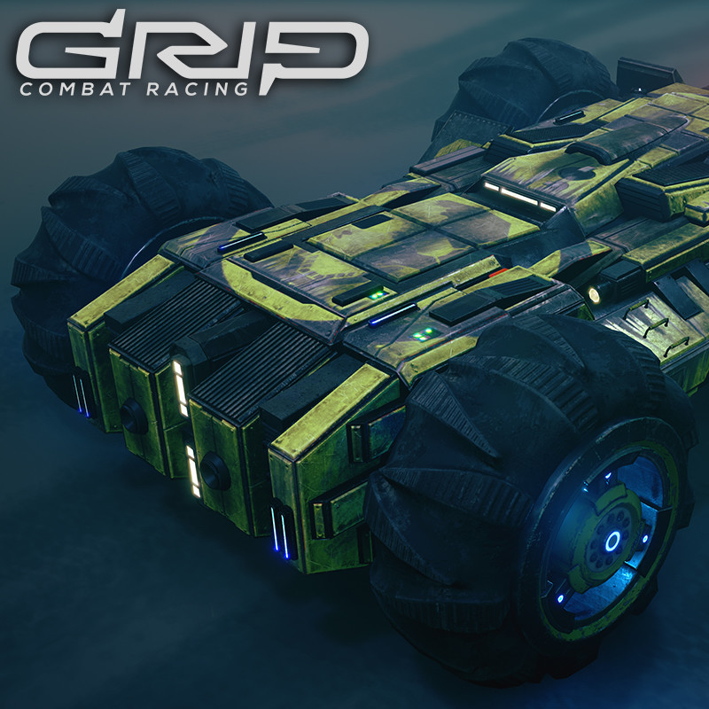 GRIP: Combat Racing - Terra Dreadnought