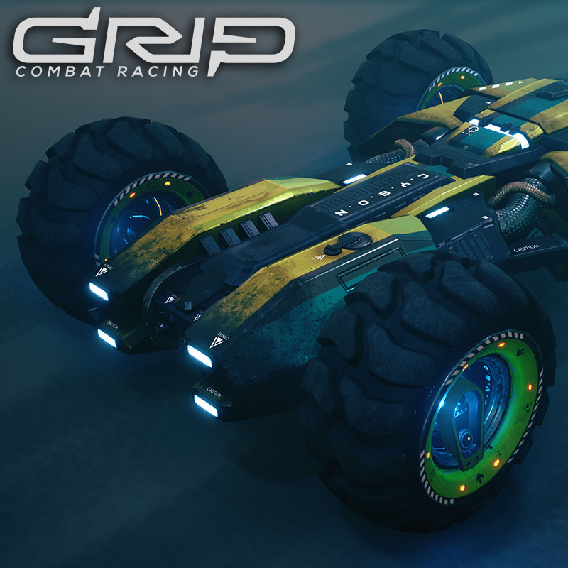 GRIP: Combat Racing - Cygon Ictus
