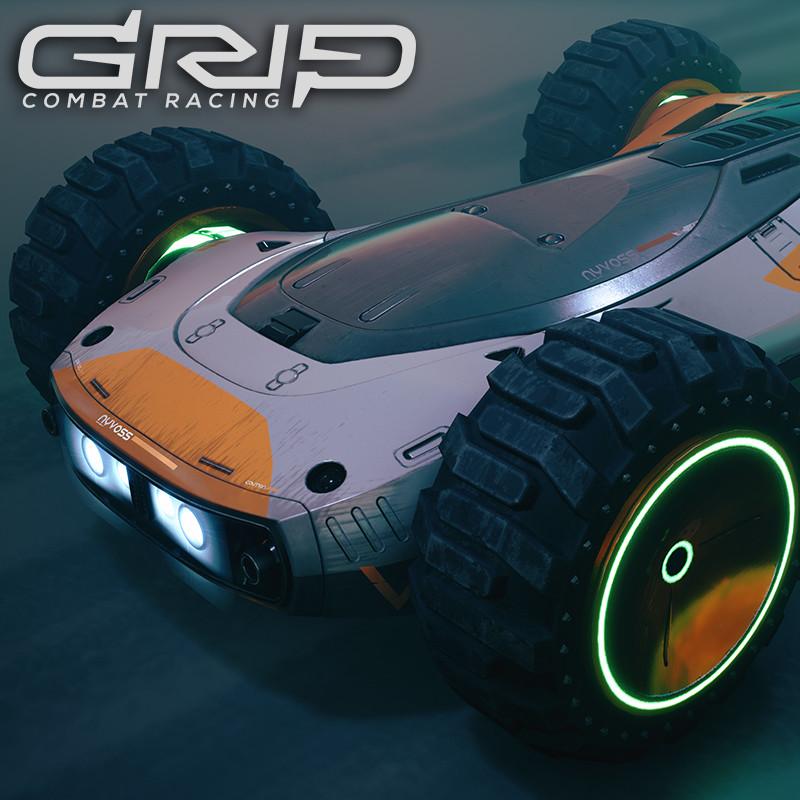 GRIP: Combat Racing - Nyvoss Spectre XI