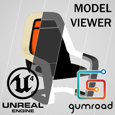 ArtStation - Unreal Engine Model Viewer, Dan Upton