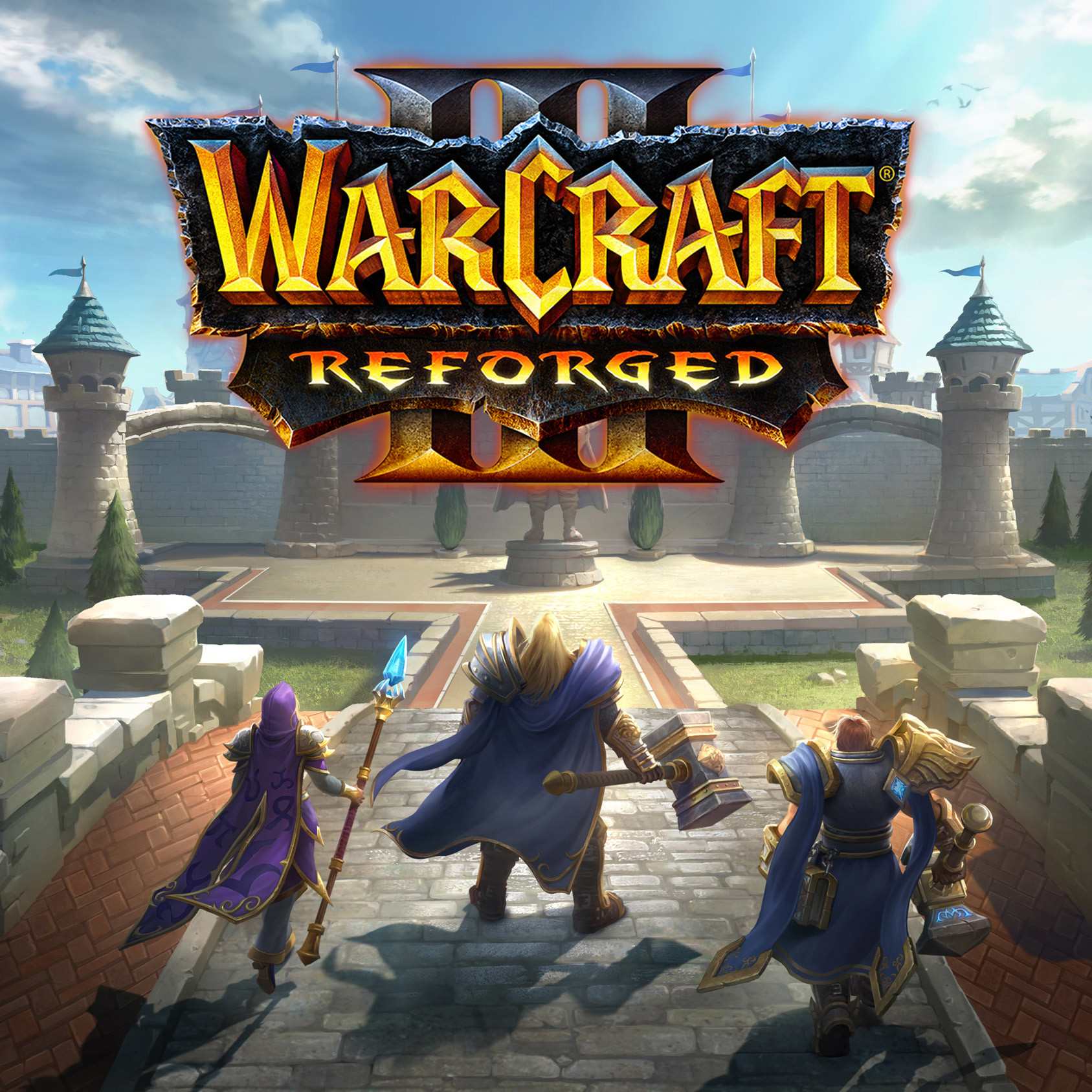 ArtStation - Warcraft III Reforged - Intro Screen, Eilene Cherie