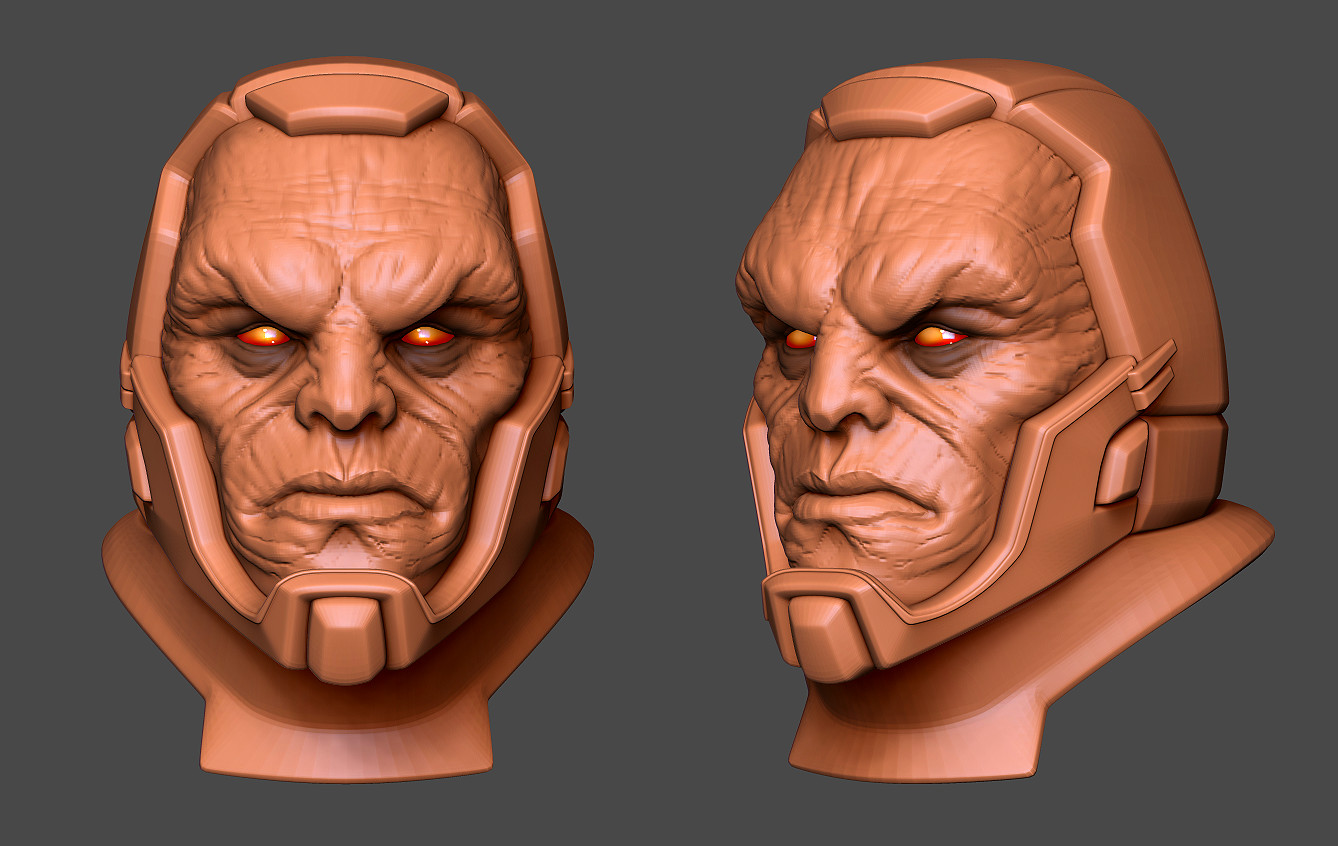 Darkseid Fan Art WIP