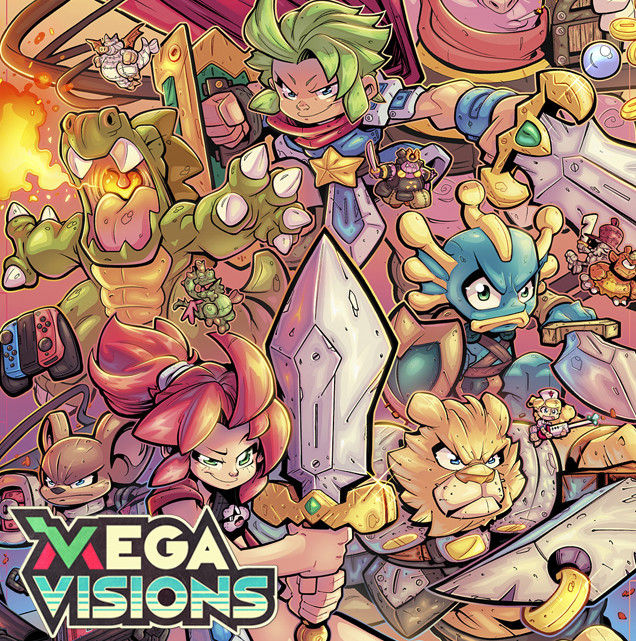 Megavisions Cover Art 04 - Wonderboy