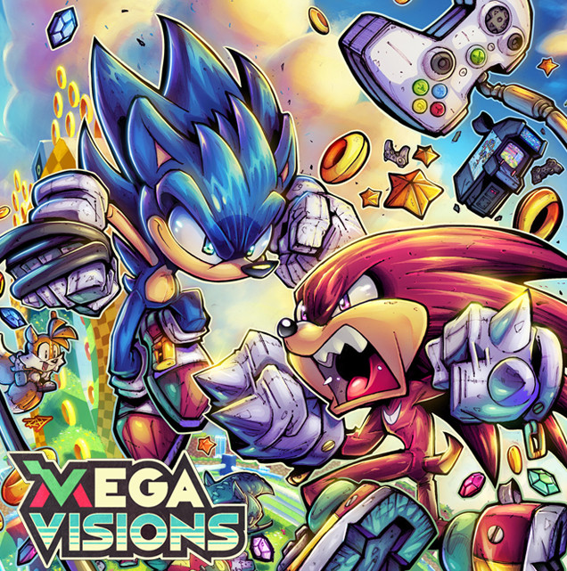 Megavisions Cover Art 03 - Sonic Fighters