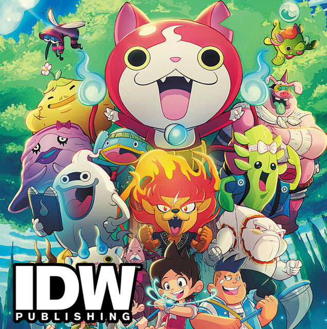 Yokai Watch Cover Art