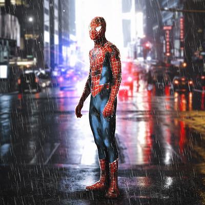 Andreas bazylewski spiderman as