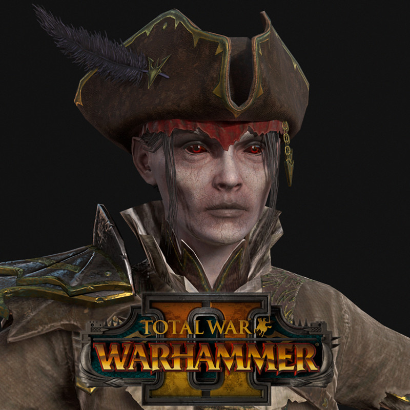 Total War Warhammer 2 DLC - Vampire Captain