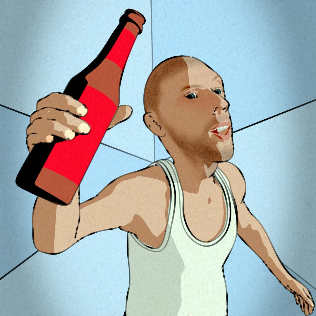 Daniel, an animated NPR character