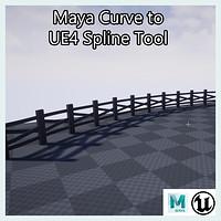 ArtStation - Maya to UE4 Instance Mesh Tool , James Miller