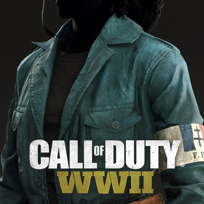 Zombie Olivia Durant Call of Duty WWII