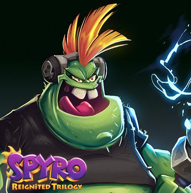 Spyro Reignited Trilogy - Electro Gnorc