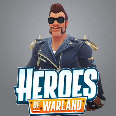 Heroes of Warland: Heavy Male and Female Characters