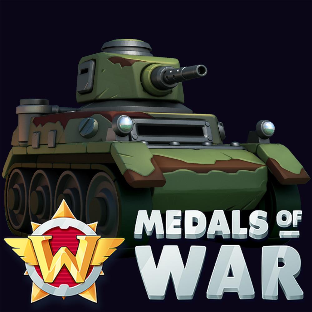 Medals of War: 3D assets