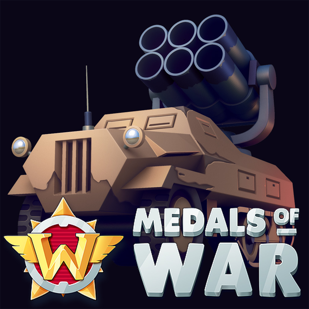 Medals of War: vehicles and equipment