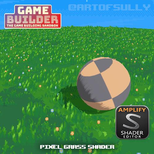 Pixel Grass Shader (asset for 'Game Builder')