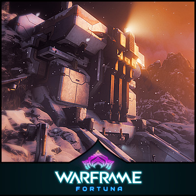 Warframe: Fortuna Update - Various Structural Assets