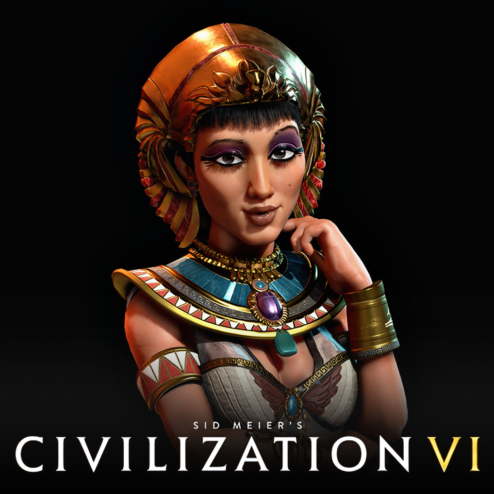 Civlization VI: Cleopatra of Egypt