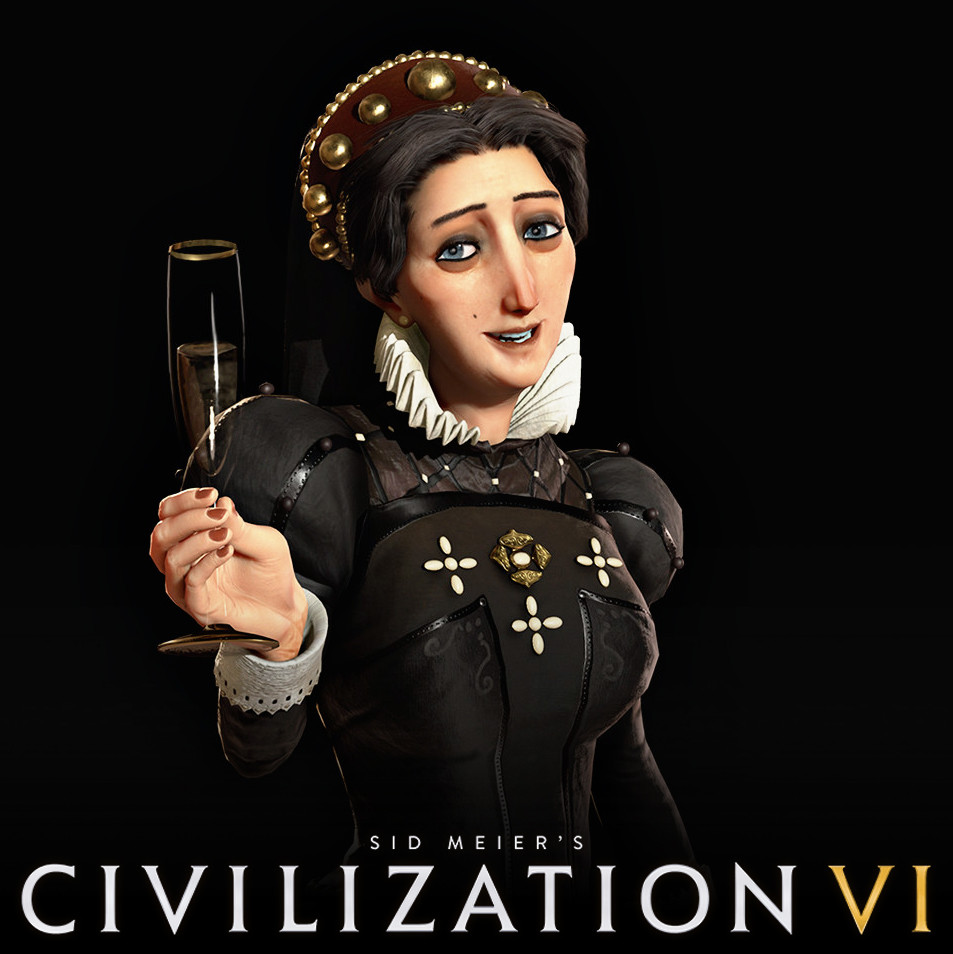 Civilization VI: Catherine of France