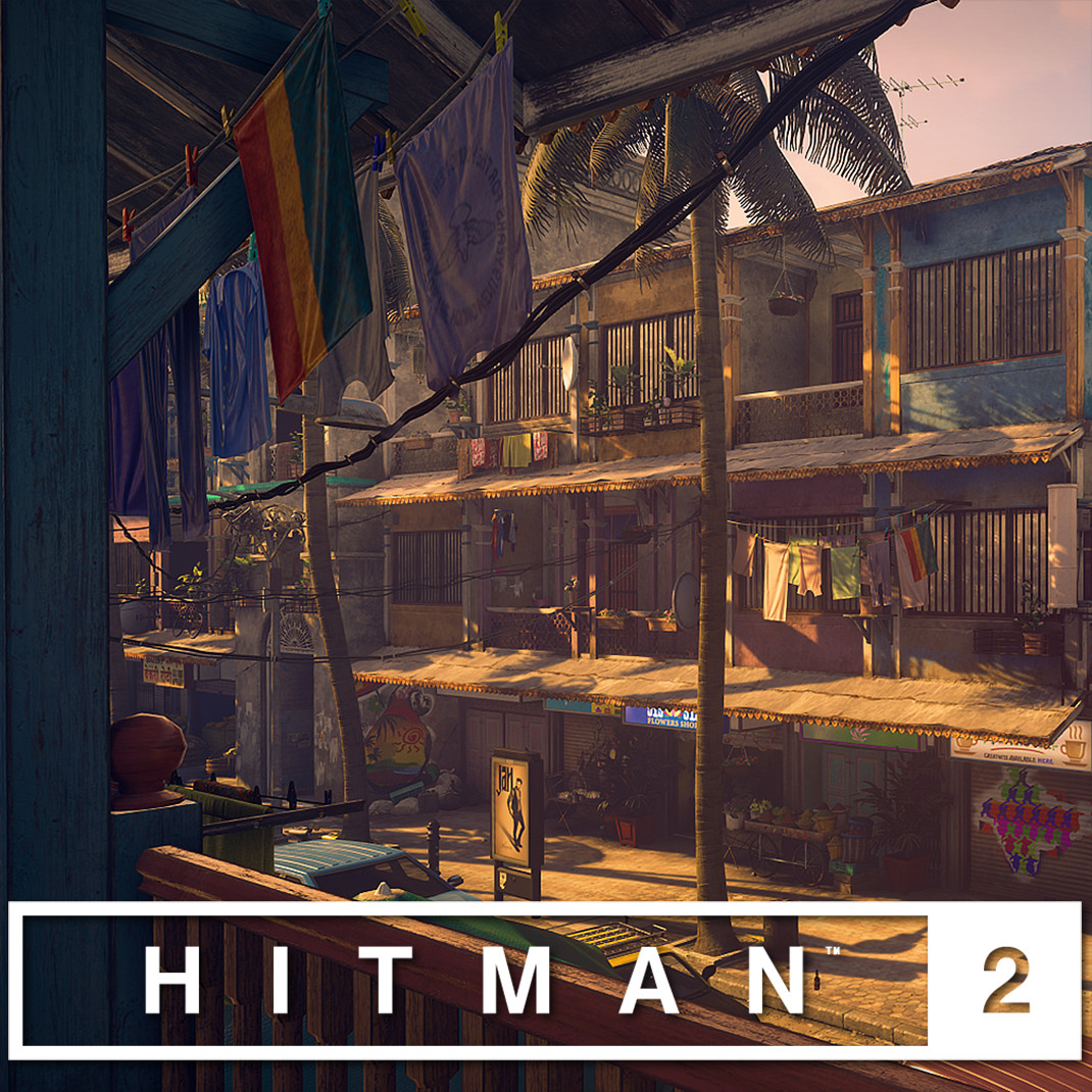 HITMAN 2 - Mumbai Environment Art