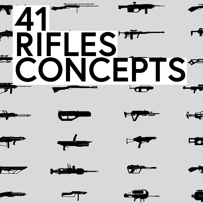 41 Rifles concepts
