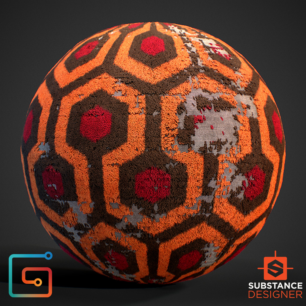 Carpet - 100% Substance Designer