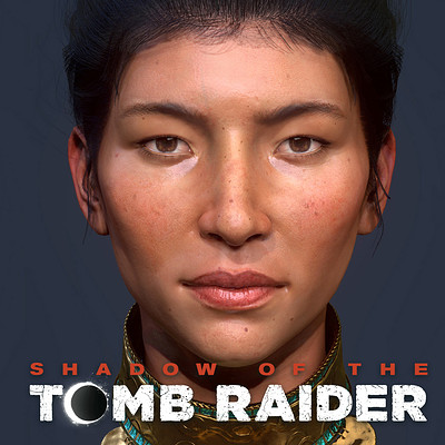 Shadow of the Tomb Raider characters