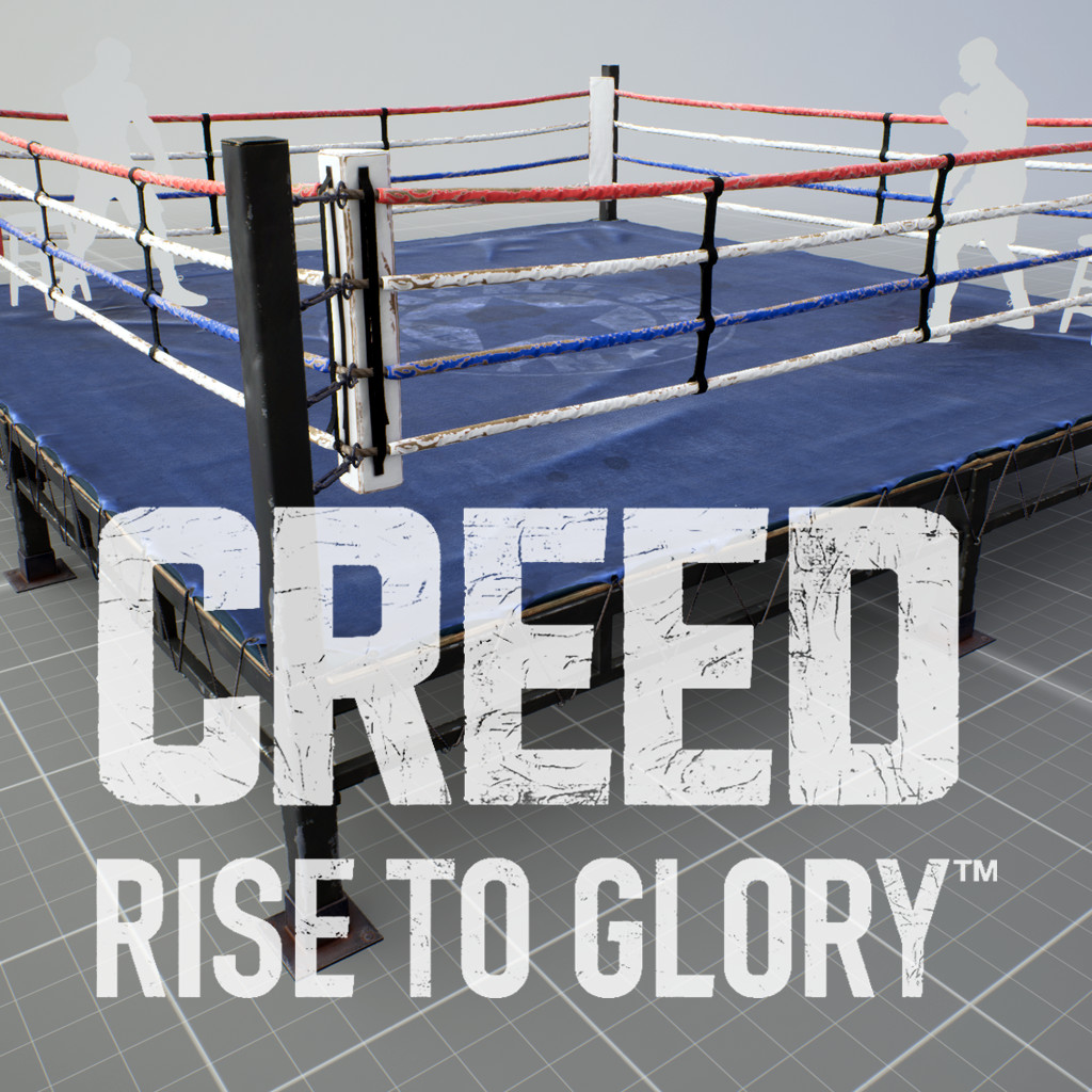 Creed: Rise To Glory - Old Boxing Ring Asset