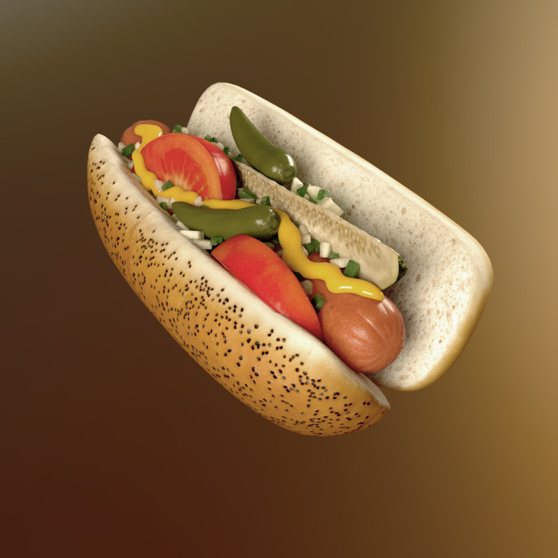 Food Series #3 - Hot Dog