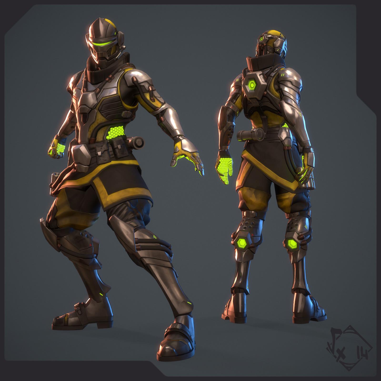 Syblast - Cyborg Skin
