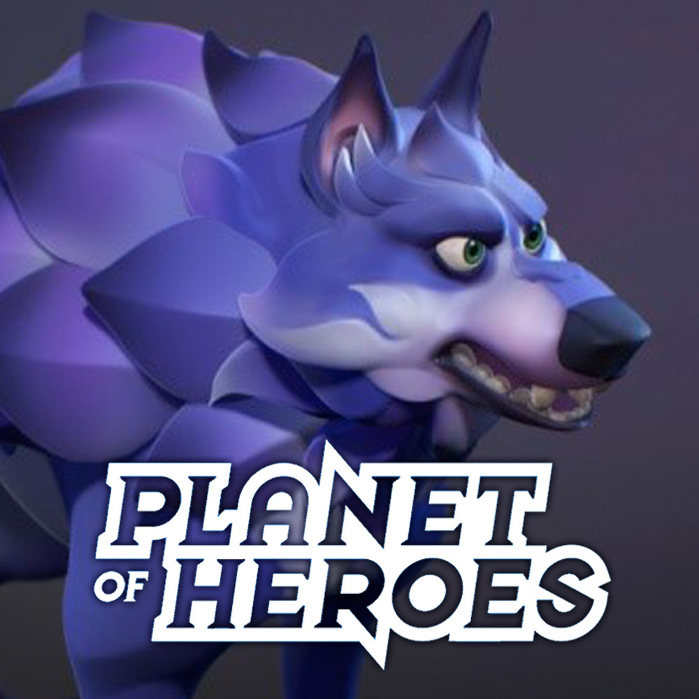 Planet of Heroes: Wolf 3D Animations