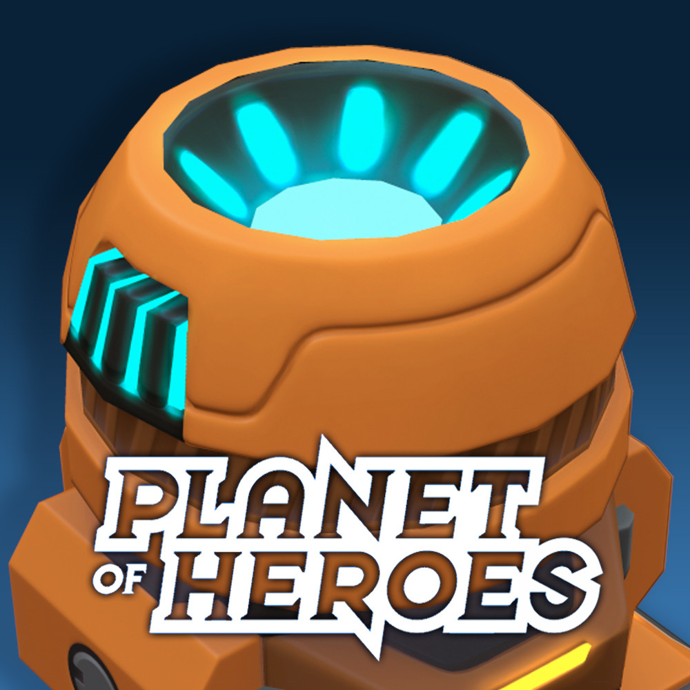 Planet of Heroes: Concept art and 3D of props