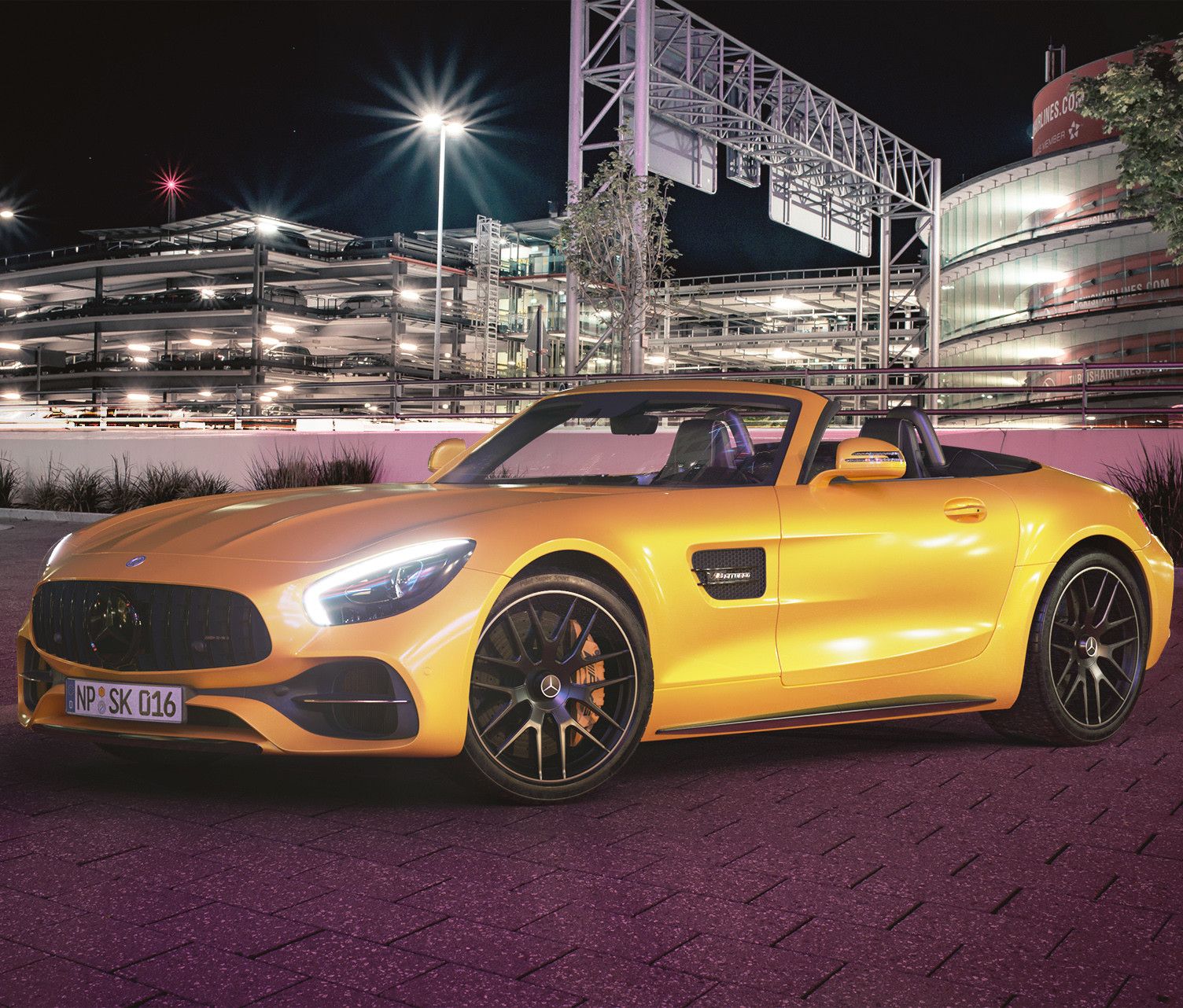 Mercedes AMG GTC Roadster