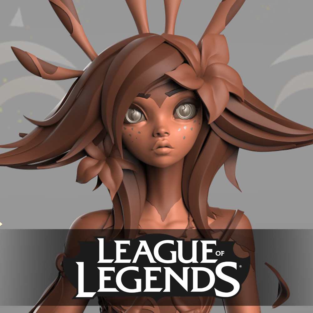 Neeko the Curious Chameleon - High Res model - League of Legends