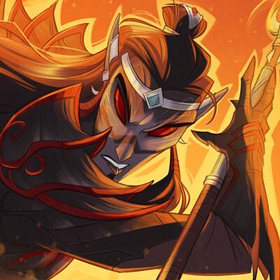Shamine king flame boi