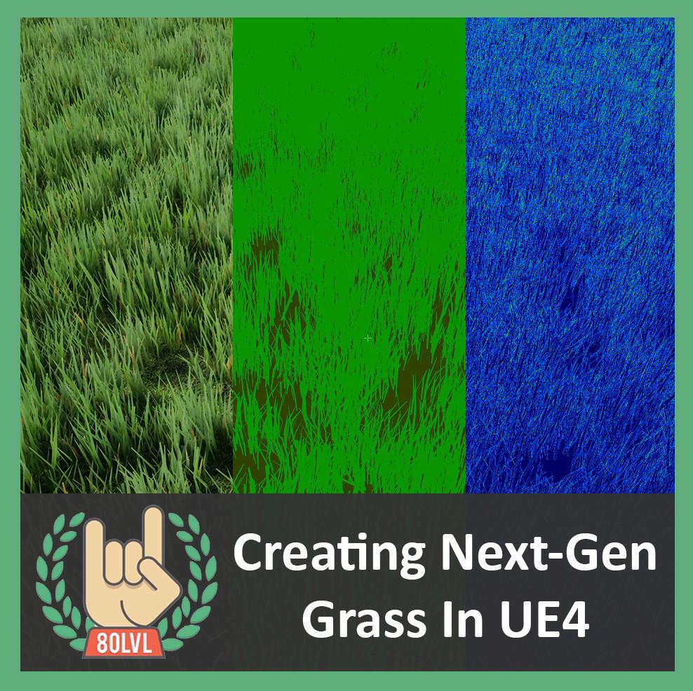 ArtStation - Creating Next-Gen Grass In UE4, Nils Arenz