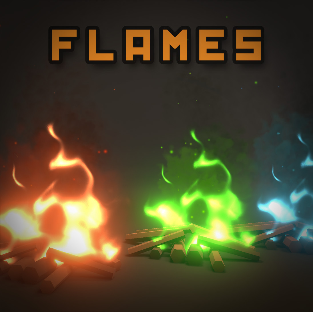 ArtStation - Unity Shader Graph - Fire Flames Shader