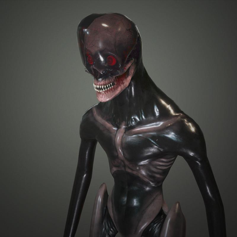 Clear Dome Alien Creature