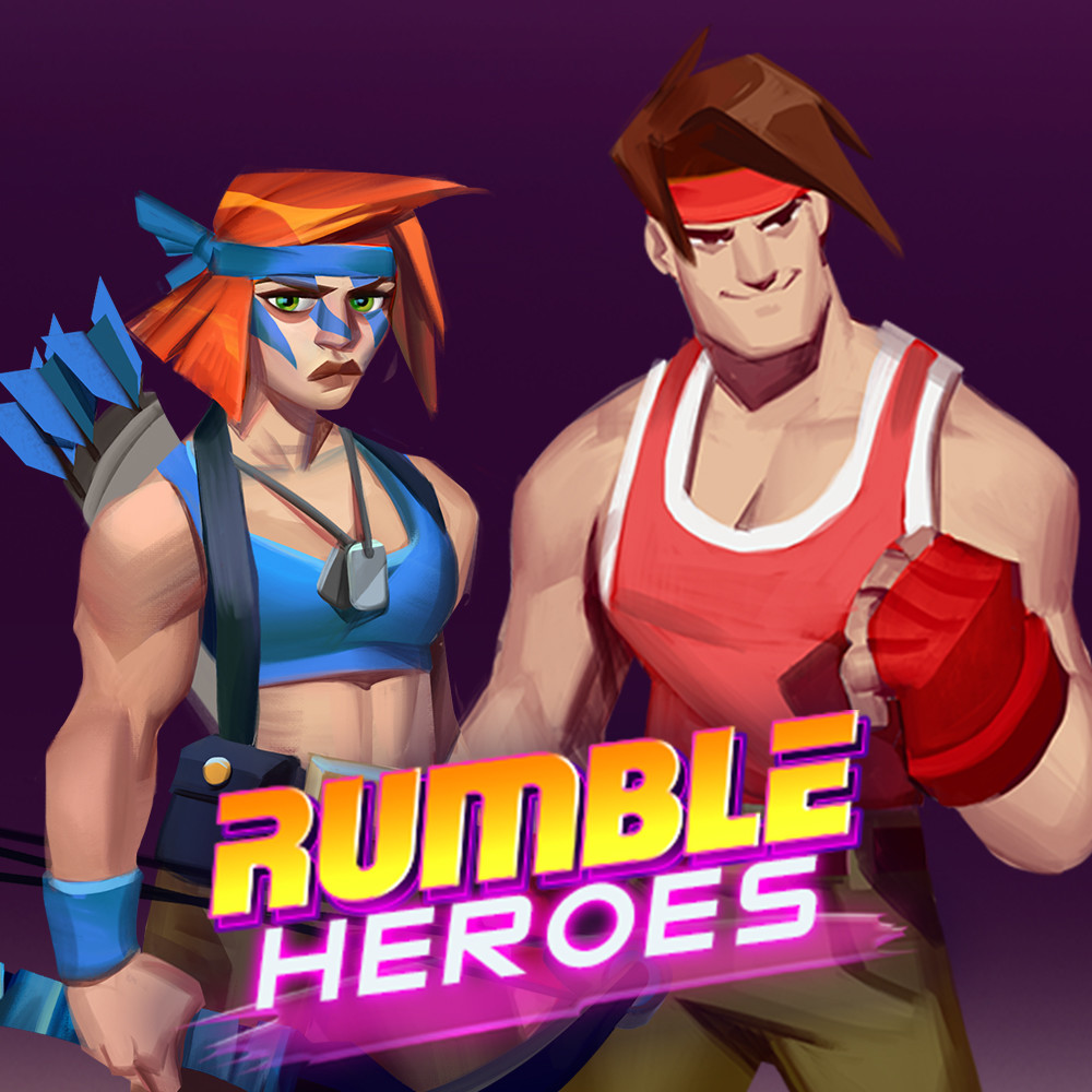 Concept Characters Rumble Heroes