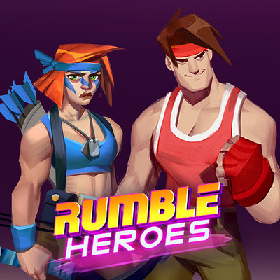 Room 8 studio preview rumble heroes1