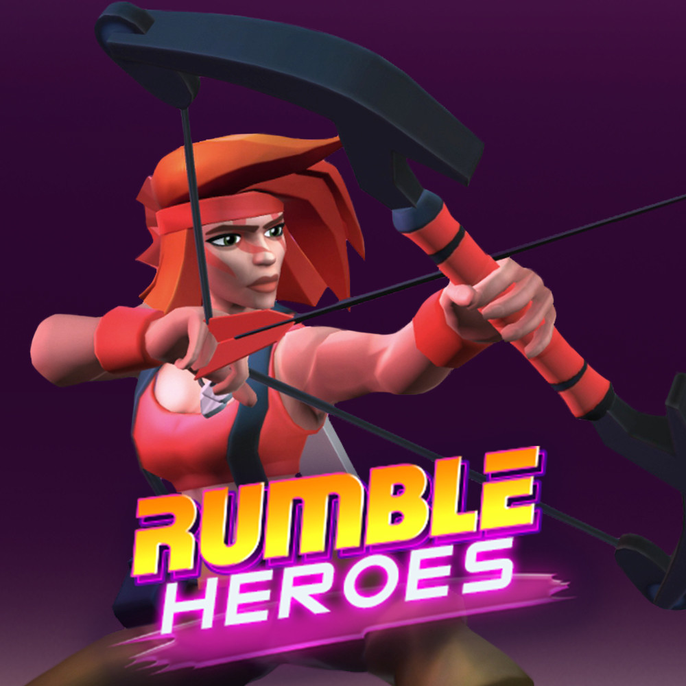 Rumble Heroes: 3D Animations of Jane Bow