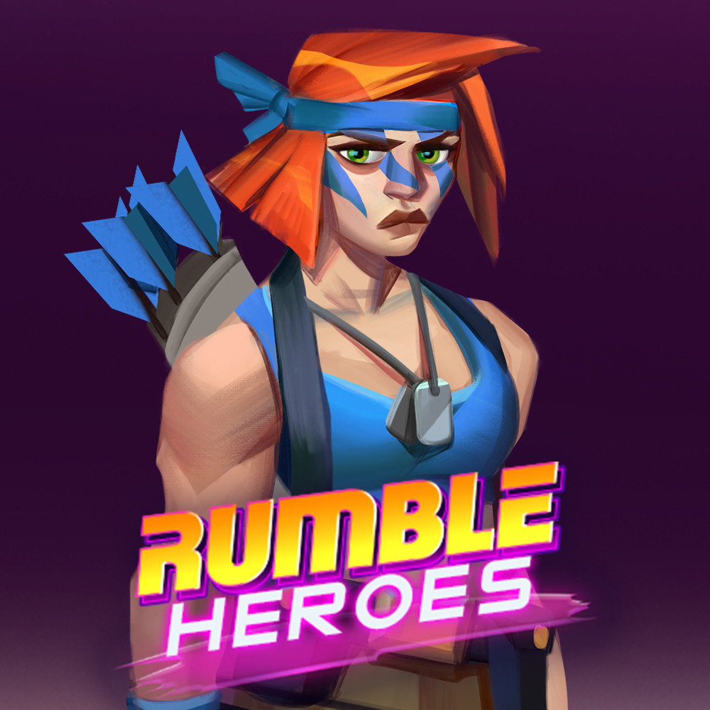 Rumble Heroes: Concept Art of Jane Bow