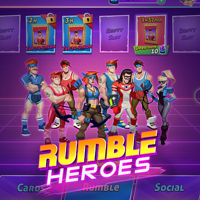 Room 8 studio preview rumble heroes12